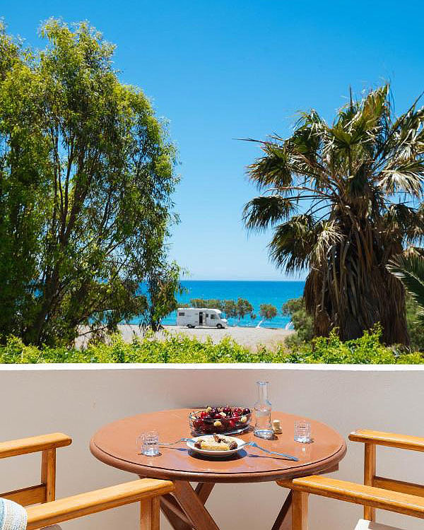 Dionysos room view to the sea